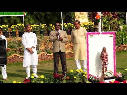 Republic Day celebrations at Manthena Satyanarayana Raju Arogyalayam-2019
